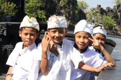 Kids being kids, Lombok, Indonesia