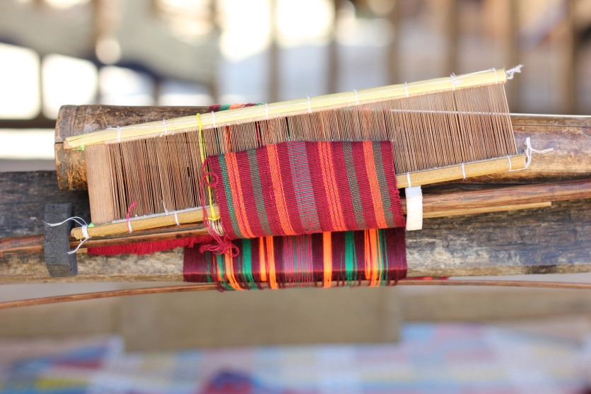 A traditional loom, Lombok, Indonesia
